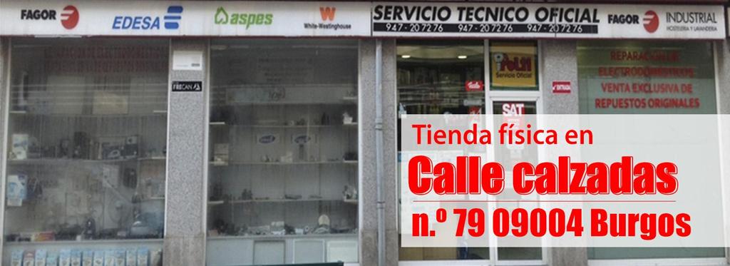 Gama blanca serteco reparaci n de electrodom sticos for Servicio tecnico fagor burgos